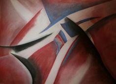 Dino Buchmann, Rot, blau, schwarz, 2014, Pastell auf Papier, BxH 60x42 cm on ArtStack #dino-buchmann #art Abstract, Artwork, Painting, Paper, Red, Blue, Black, Pastel, Photo Illustration