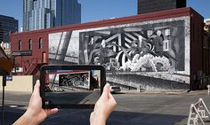 augmented reality art facade