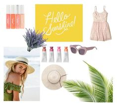 """hello sunshine ☀️"" by kgolubevva on Polyvore featuring мода, Pottery Barn, Hollister Co., Summer, Girls и summerstyle"