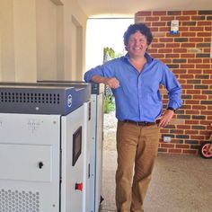 A Hilton home becomes the first in Perth to use the Sun to meet almost all of its power needs by storing the energy in batteries.