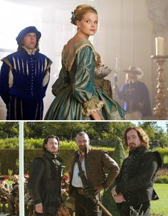 The Three Musketeers (2011) Starring: Gabriella Wilde as Constance Bonacieux, Luke Evans as Aramis, Ray Stevenson as Porthos and Matthew Macfadyen as Athos.
