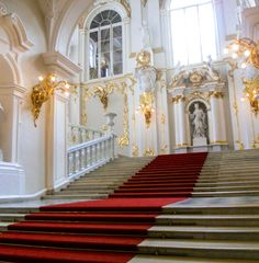The Staircase at The Hermitage.