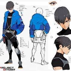 Some revised concept art of one our characters for PD Rex. Wanted to spend some time flushing out his character design a bit more. Game Character Design, Character Design Animation, Character Creation, Character Drawing, Character Design Inspiration, Character Concept, Concept Art, Overwatch Skin Concepts, Cyberpunk Art