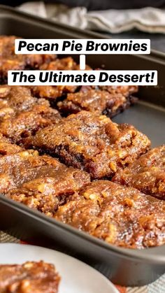 Pecan Recipes, Brownie Recipes, Sweet Recipes, Cooking Recipes, Best Pecan Pie Recipe, Stuffing Recipes, Pumpkin Recipes, Turkey Recipes, Cool Recipes