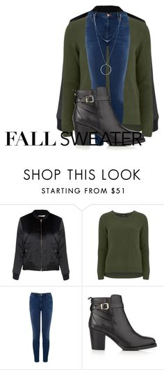 """""""#October"""" by sevenjanja ❤ liked on Polyvore featuring Glamorous, VILA, Warehouse, Kurt Geiger and Botkier"""