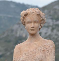 Statue in Eze