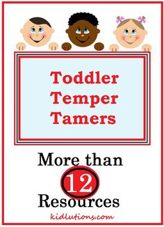 Toddler Temper Tamers: Tantrums and more! Support for early childhood home visitors, therapists, parents and teachers.