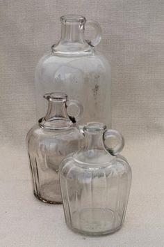 S Narrow Neck Glass Jug