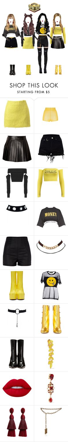 """""""《INKIGAYO》CRYBABY {26.11}"""" by bittersweet-official ❤ liked on Polyvore featuring Simone Rocha, N°21, FAUSTO PUGLISI, McQ by Alexander McQueen, Palm Angels, River Island, Vetements, TeeTrend, Mondaine and Gucci"""