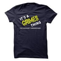 It is a GRIMES Thing tee