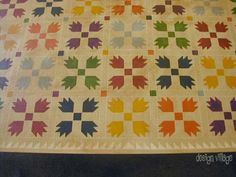 Bears Paw Floorcloth Runner