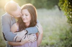 Photo Fridays | An Orange Grove Engagement--such pretty lighting!