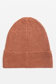 Topshop Turn Up Beanie Hat Turn Up 789a71499643
