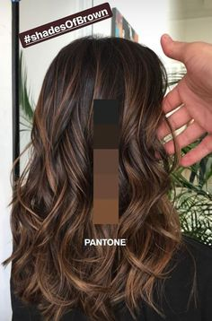 New hairstyle and color ideas for 2019 - Just Trendy Girls: ideas . - Frisuren Haare Schritt New hairstyle and color ideas for 2019 – Just Trendy Girls: ideas … Brown Hair Balayage, Hair Color Balayage, Bayalage, Brown Balyage, Brown Hair With Lowlights, Dark Hair Balyage, Asian Balayage, Brown Hair Colors, Pretty Brown Hair