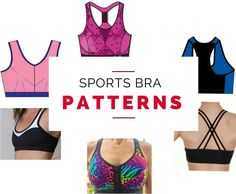 Sports bra sewing patterns