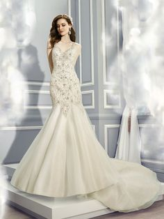 77 Best Beaded Wedding Gowns images  6bf340ff41ca
