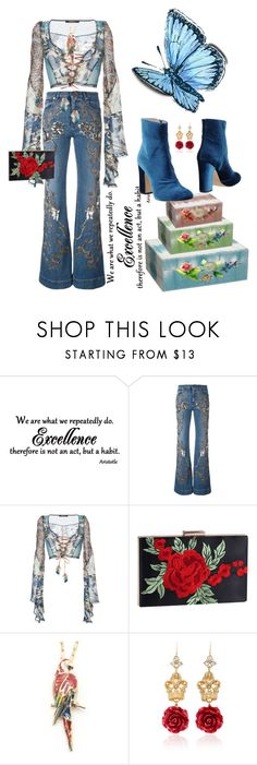 """""""E."""" by rita257 ❤ liked on Polyvore featuring Roberto Cavalli and Dolce&Gabbana"""