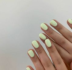 Pastel Nails, Cute Acrylic Nails, Pink Nails, Cute Nails, Pretty Nails, Neon Nails, Yellow Nails, Nails Turquoise, Gel Nail Polish Colors