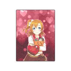 """Love Live! Honoka Blanket 50""""x60"""""""
