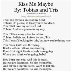 Divergent Funny!!! If someone can find the whole version I will post a cover it on YouTube!!!