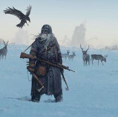 "12.1k Likes, 77 Comments - Mr.Werewolf (@mr_werewolf) on Instagram: ""Steampunk Viking wandering through his homeland after the war... from my alternative world of…"""