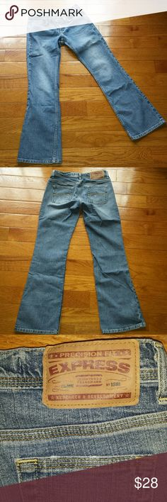 Express Precision Fit Sarula Jeans Great condition slightly flared boot cut jeans. Express precision fit Sarula jeans. Size 2 short. Express Jeans Boot Cut