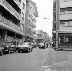 Calle Juan Bautista Zabala, Algorta, años 70 (Colección Eugenio Gandiaga) (ref. 06237)