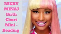 Here is Nicky Minaj´s mini reading of her horoscope. In this video you will learn more about her- who she is, which is the most important planet of her horos. Mini Reading, Birth Chart, Nicki Minaj, Celebrities, Celebs, Famous People