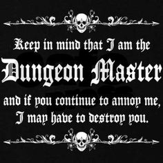 Dungeon Master - T-Shirt on CafePress.com