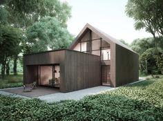 Projekty domów - House x06 : Modernistyczne domy od Majchrzak Pracownia Projektowa