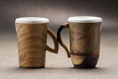 Combine du senses is a Wood and Mood idea brought to life to embellish your kitchen in the coffee break time.  These two coffee cups are a perfect mix between the beauty and character of wood and...