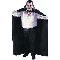 Vampire Costume Big and Tall Cape - 1 Units