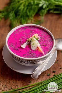 Best Soup Recipes, Fruit Recipes, Vegan Recipes, Cooking Recipes, Poland Food, Vegan Gains, Good Food, Yummy Food, Polish Recipes