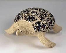 Mata Ortiz Pottery by Luz Angelica Lopez Cota - Tortoise
