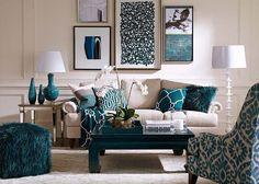 Ideas decoracion de salas con color