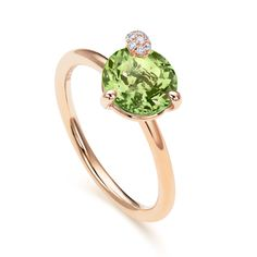 The Peekaboo collection is synonymous with pure joie de vivre and vibrancy. The fresh, delicate peridot gemstones set in rose gold will make any self-confident, modern woman shine. Get inspired by the collection here. Buy Rings, Fine Jewelry, Jewellery, Confident Woman, 18k Rose Gold, The Fresh, Peridot, Jewelry Collection, Delicate