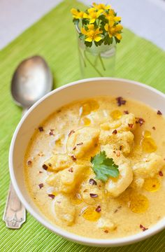 Potato and #Yogurt Soup from #indiansimmer.com #vegetarian