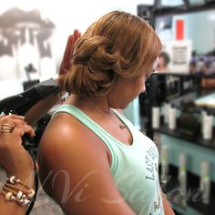 Updo's for Special events done by N.Vi Salon