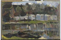 Bleekerij aan het Gein, Piet Mondriaan, ca. 1900-1902.