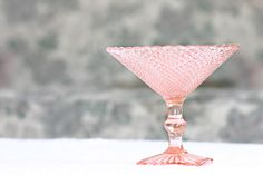 Miss America Depression Glass Pink Compote. My favorite piece. Antique Glassware, Vintage Kitchenware, Vintage Dishes, Pink Depression Glassware, Miss America, Glass Ceramic, Carnival Glass, Milk Glass, Vintage Pink