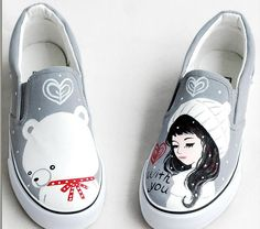 Personalized hand-painted Canvas shoes