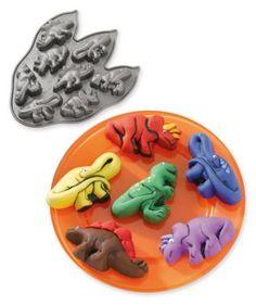 dinosaur mini cake tin