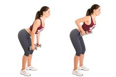 How to lose back fat requires changes to diet and exercises to strengthen your back muscles. These 12 exercises help shape your back muscles while losing fat. Lower Back Fat, Upper Back Muscles, Fun Workouts, At Home Workouts, Intensives Training, Flabby Arms, Best At Home Workout, Arm Fat, Good Posture