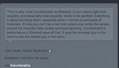 THIS! My god this is possibly the most beautiful Sherlock related post I've ever encountered.