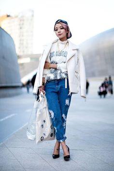 Miss Rich: Seoul Fashion Week 2016 Street Style