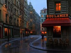 Caminhe através famosas ruas em pinturas requintadas ao redor do mundo