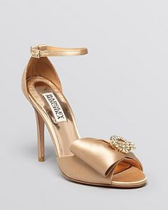 sandals with bows and rhinestones - Google Search