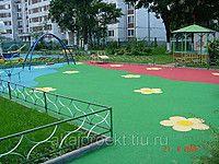 Безопасные покрытия для детских площадок на сыпучее основание, цена 2000…