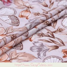 "Rayon Fabric White Printed Fruit 43/"" Wide Sewing Drape Dress Material By 1 Metre"