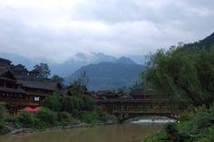 Miao village in Xinjiang China  #village #miao #xinjiang #china